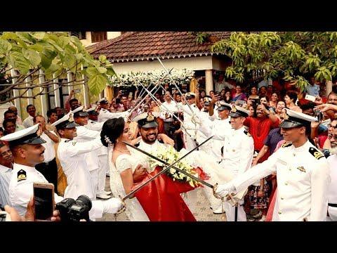 INDIAN NAVY WEDDING | HIGHLIGHTS | ABRAHAM WITH ANU