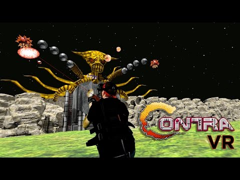 Contra VR - Vive Mixed Reality Demo