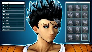 JUMP FORCE - MAKING MY CAC! ALL Male Character Creation Options & CaC Customization Gameplay