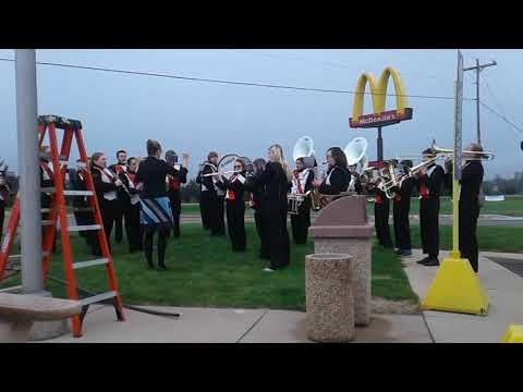 Louie Louie by the Mancelona High School Band