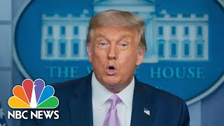 Donald Trump: Moderna To Manufacture, Deliver 100 million Doses Coronavirus Vaccine | NBC News NOW