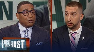 Cris Carter: Tom Izzo's aggressive coaching style is 'effective' | CBB | FIRST THINGS FIRST