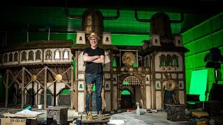 Designing the Stop-Motion Sets of Aardman Animation
