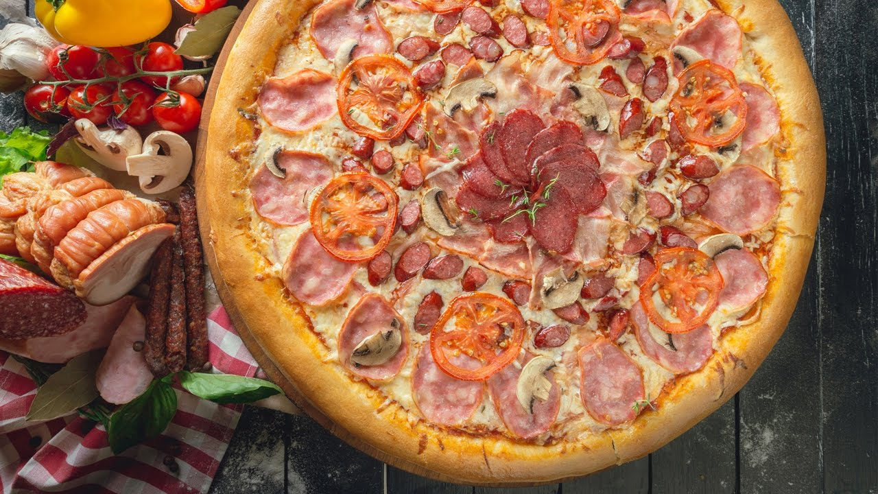 How To Make A Cheeseburger Pizza Youtube