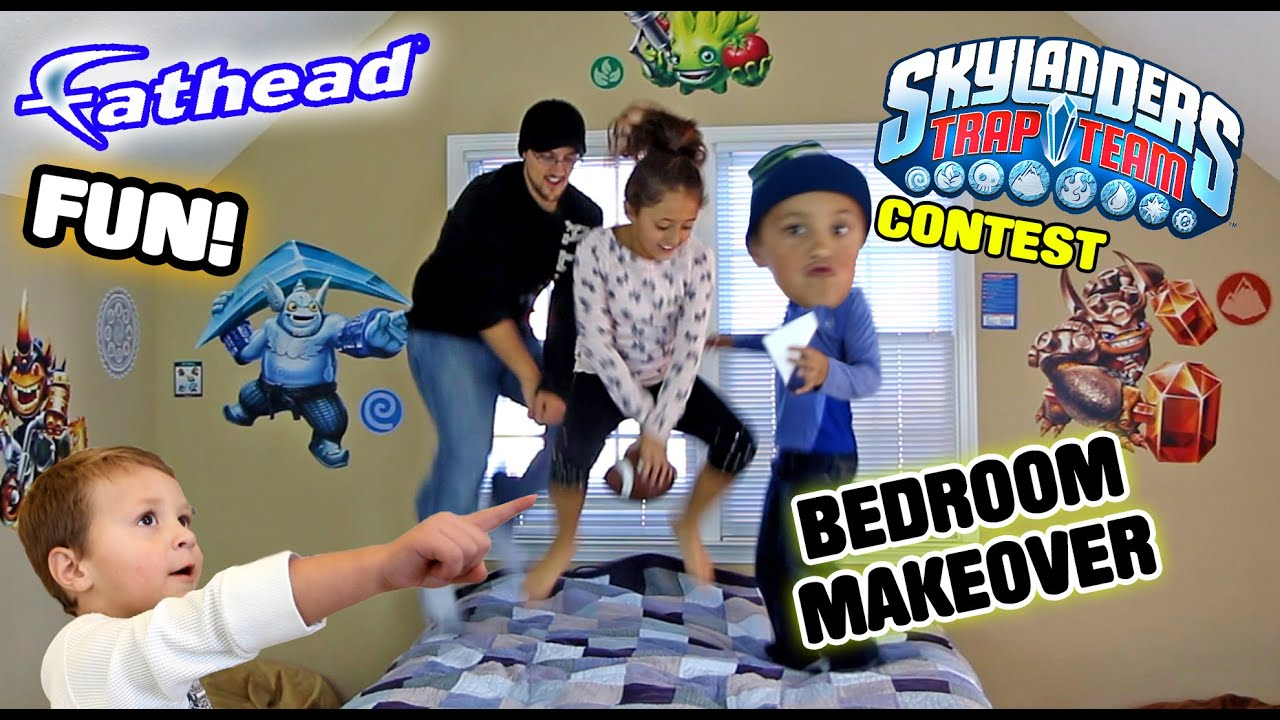 Skylanders Trap Team Fathead Wall Decals! W/ Contest U0026 Timelapse (REAL BIG)    YouTube