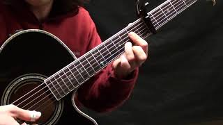 Wall of Death Guitar Lesson Pt. 1 - Richard Thompson - The Songwriter's Grooves Project