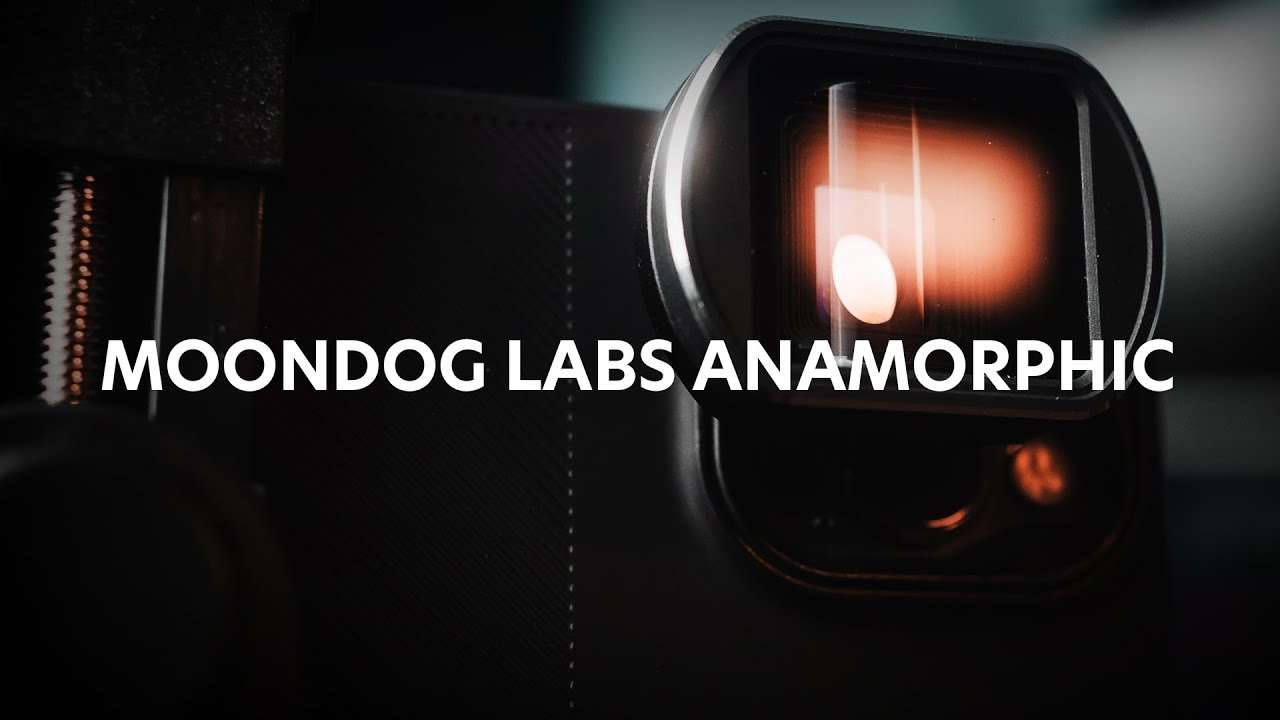 The Moondog Labs Anamorphic Lens with iPhone 12 Pro Max!
