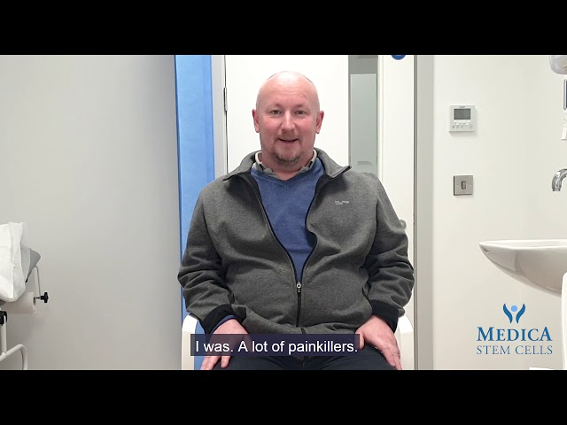 Medica Stem Cells Testimonial - Knee pain