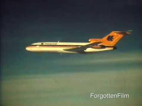 Hapag Lloyd Boeing 727 - Super 8 footage