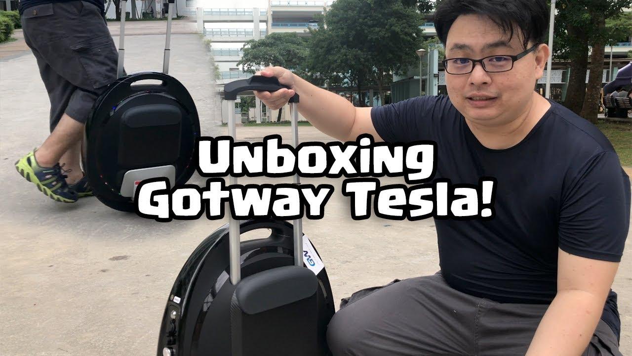 Gotway Tesla Christmas Unboxing!