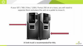 Stratasys - Moving Your 3D FDM Printer