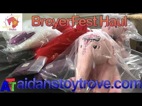 BreyerFest Special Run Model Horses - Suitcase Number 1