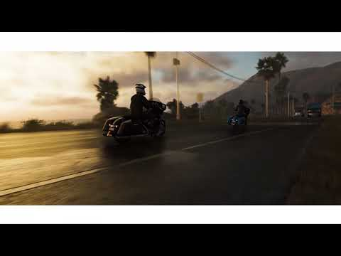 ザ クルー2:Harley-Davidson Street Glide トレーラー