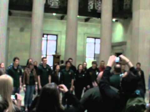 SRVHS Choir - Star Spangled Banner at Federal Hall