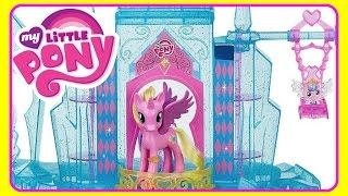 My Little Pony Explore Equestria Crystal Empire Castle With Princess Cadence & Baby Flurry Heart! ML