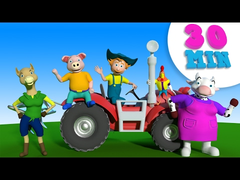 Old MacDonald had a Farm and Many More  Kids Nursery Rhymes Collection  30 Minutes Compilation