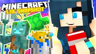 PLAYING WITH THE NEW MINECRAFT 1.13 SNAPSHOT!