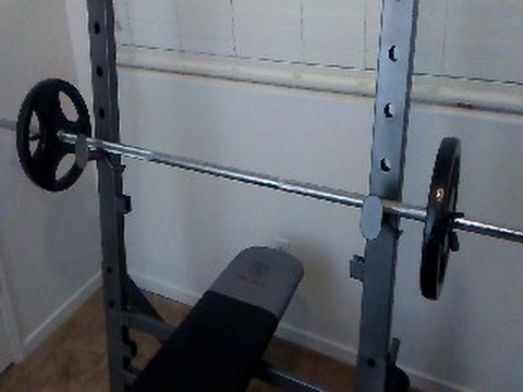 Golds gym xr 10.1 olympic weight bench review youtube