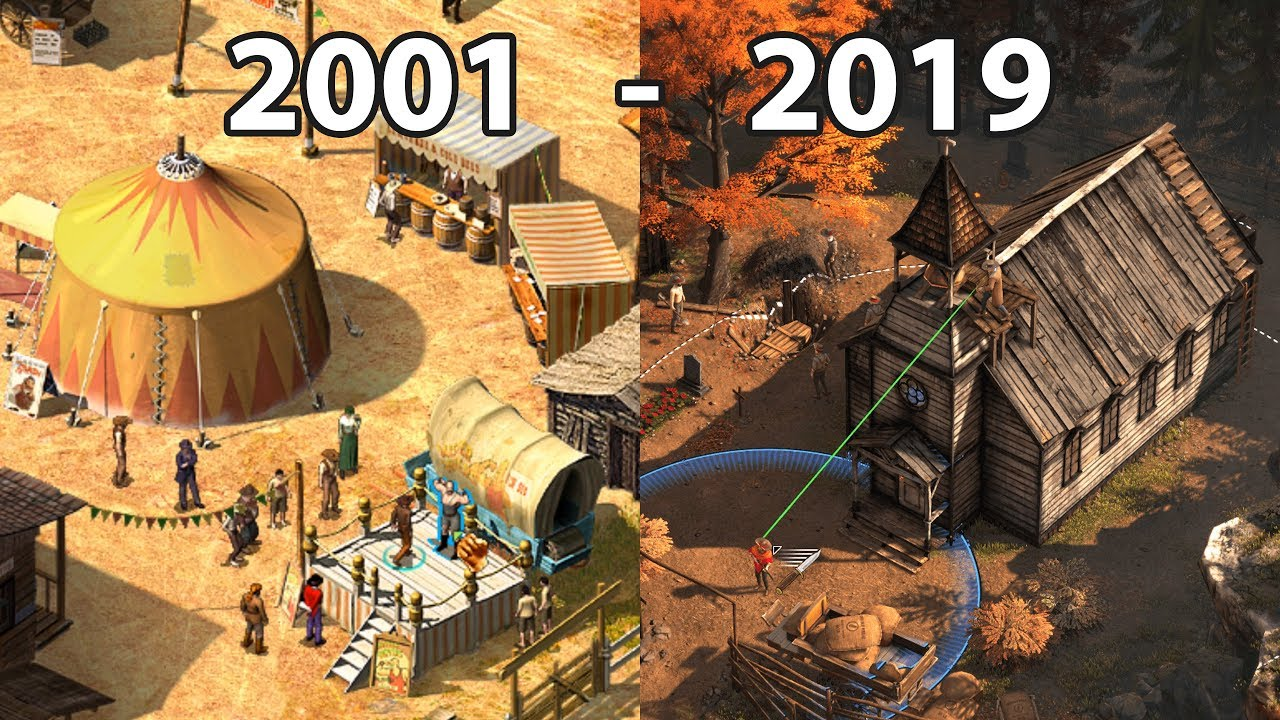 Evolution Of Desperados Games 2001 2019 Youtube