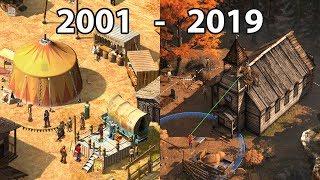 Evolution of DESPERADOS Games 2001 - 2019