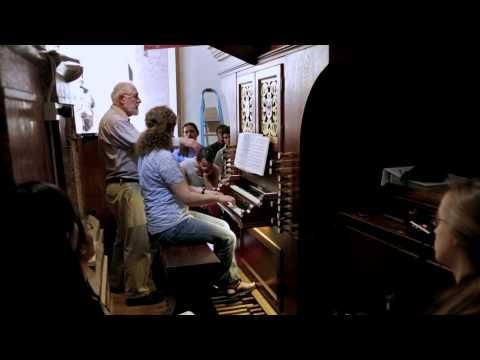 Masterclass William Porter during the Smarano Organ Academy 2014 part 2
