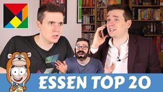 Top 20 Anticipated Essen Games 2017 - Actualol