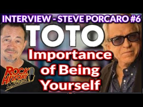 Toto's Steve Porcaro On The Importance Of Being Yourself