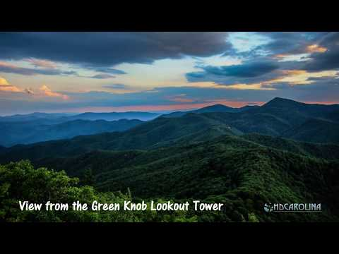 Time Lapse from the Top of the Green Knob Lookout Tower