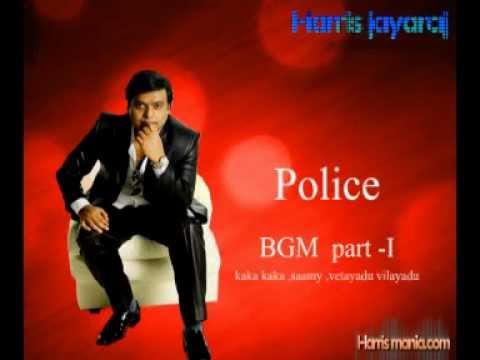 Harris Jayaraj Police Theme Music Part 1