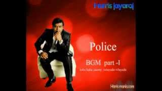 Harris Jayaraj Police Theme Music Part 1