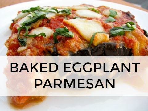 Baked Eggplant Parmesan Recipe | Clean & Delicious