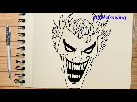 Joker Drawing Free Fire Joker Drawing Tik Tok Joker Drawing Joker Tik Tok Joker Sketch Youtube