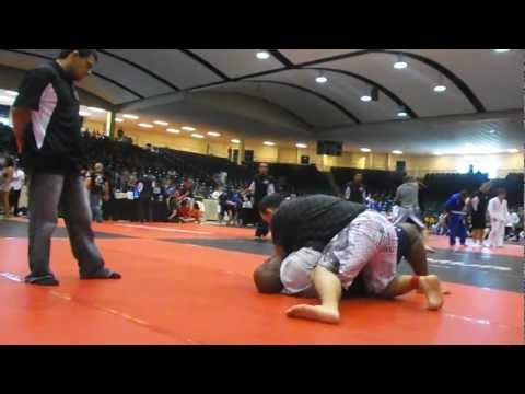 James Morgan no gi grappling match bjj