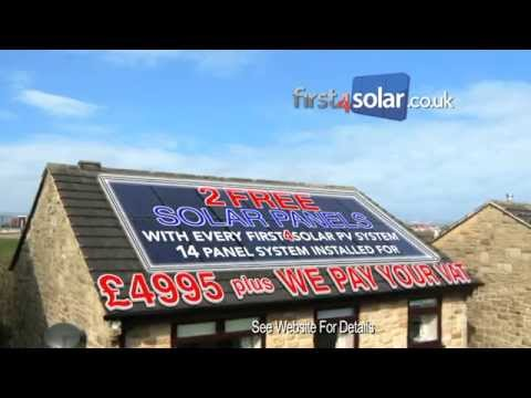 Save on electricity bills with First4Solar solar power