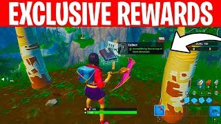 All Fortbyte Locations! 1-100 Exclusive Rewards! -Fortnite Battle Royale