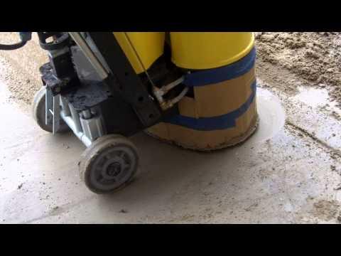 HOW-TO Polish Concrete W/ Concrete Genie Floor Grinder