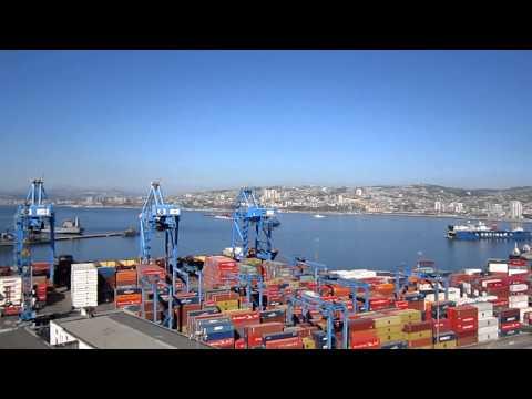 Port at Valparaiso Chile