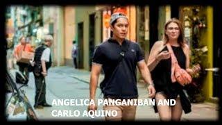 ANGELICA PANGANIBAN AT CARLO AQUINO, WALA NANG SAMA NG LOOB SA MGA NAGING KARELASYON NILA.