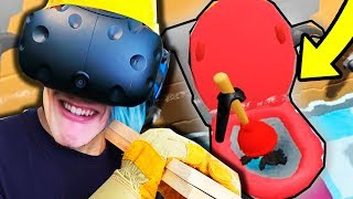 ПОСТРОИЛ УНИТАЗ В КОМНАТЕ HOUSE FLIPPER VR