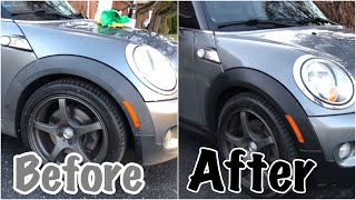 Transform the Look of Your Car - Restore Old Grey Plastic with CarGuys Plastic Restorer