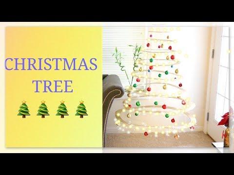 Cardboard Christmas Tree DIY || Floating Christmas tree