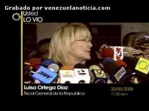 Ud. Lo Vio... Luisa Ortega Díaz