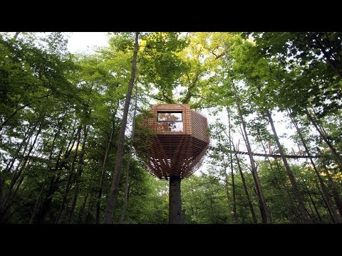 ORIGIN Tree House |Atelier LAVIT | 60810 Raray, France | 23.0 M2 | HD
