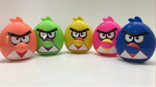 Surprise Eggs Angry Birds | toys for kids videos