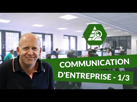 Communication D'entreprise 1/3 - Marketing - DigiSchool