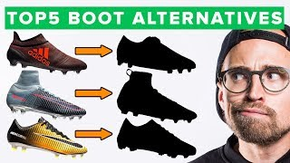 TOP 5 BOOT ALTERNATIVES - cheaper options to high end football boots