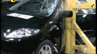 Краш тест Mazda 5 2005 (E-NCAP)