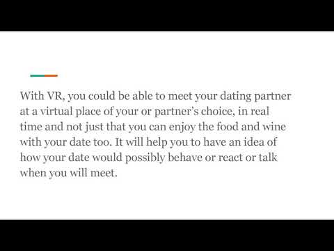 Online dating sites and VR