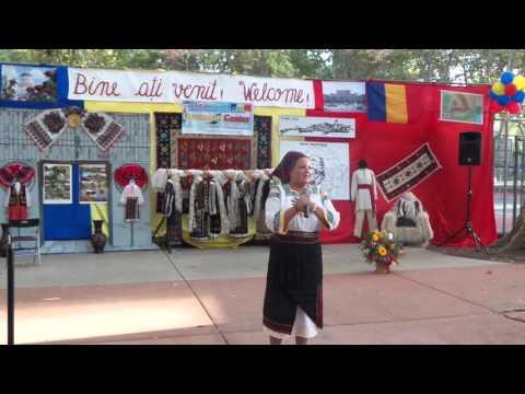 Viorica Elena Onut Romanian Music Artist Roseville California Festival Video 2