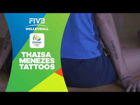 Thaisa Menezes on her tatoos